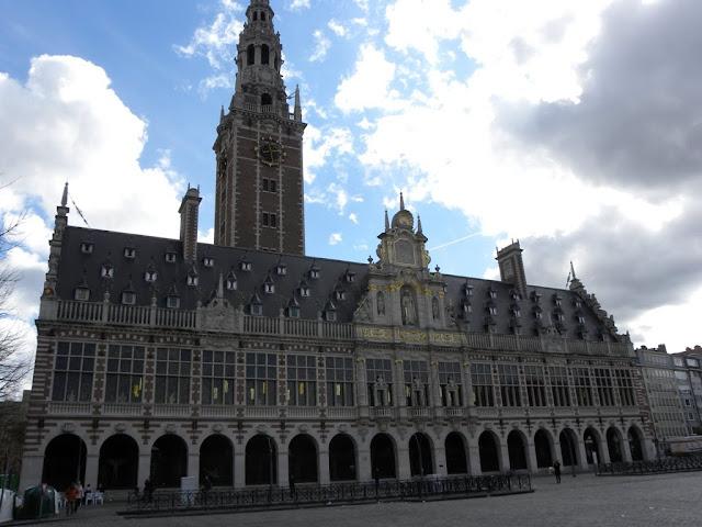 Centrale bibliotheek Leuven Central Library Demuinck Pardon