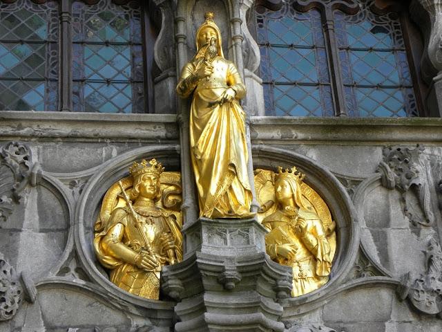 Brugge Basilica of the Holy Blood Heilig Bloedbasiliek