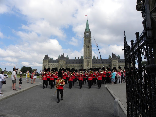 Change of the Guard Ottawa