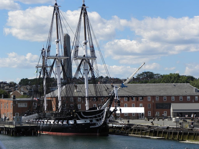 Boston Harbor USS Constitution
