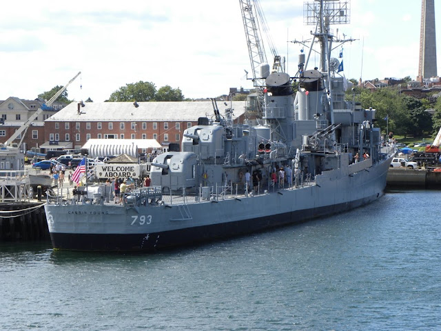 Boston Harbor USS Cassin Young