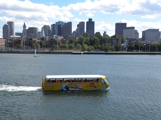 Boston Harbor Duck Tours