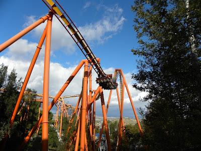 Six Flags Magic Mountain Tatsu