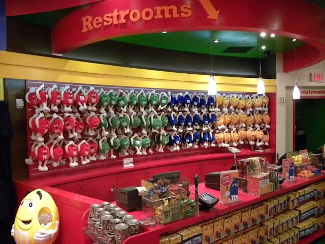 M&M store Las Vegas