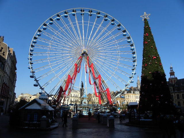 Christmas Ferris Wheel Lille