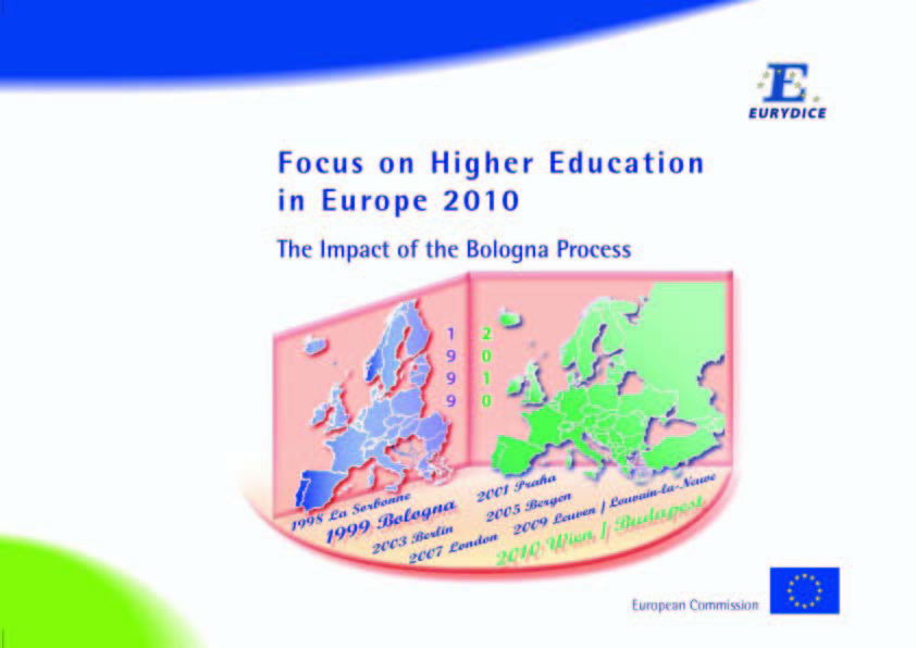 the higher education in europe A barometer of change: celebrating achievements and identifying the challenges for a new era in higher education.