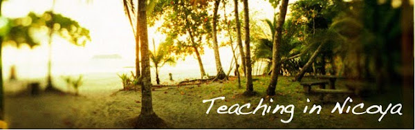 Teaching in Nicoya