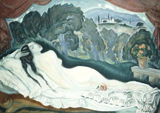 Κωνσταντίνος Παρθένης-Μεγάλο γυμνό, π. 1920 - 1925