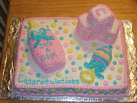 Baby Shower Cake It's a Girl