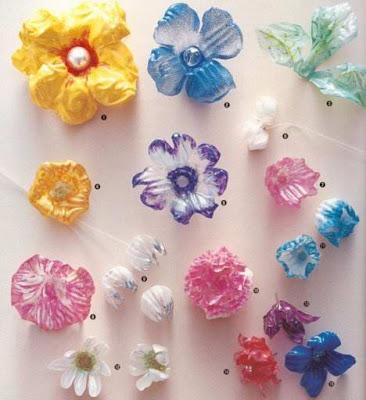 reciclaje de plastico manualidades