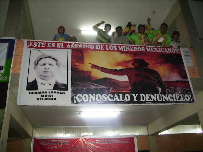 CUMBRE DE LOS PUEBLOS, LIMA-PERÚ 2008