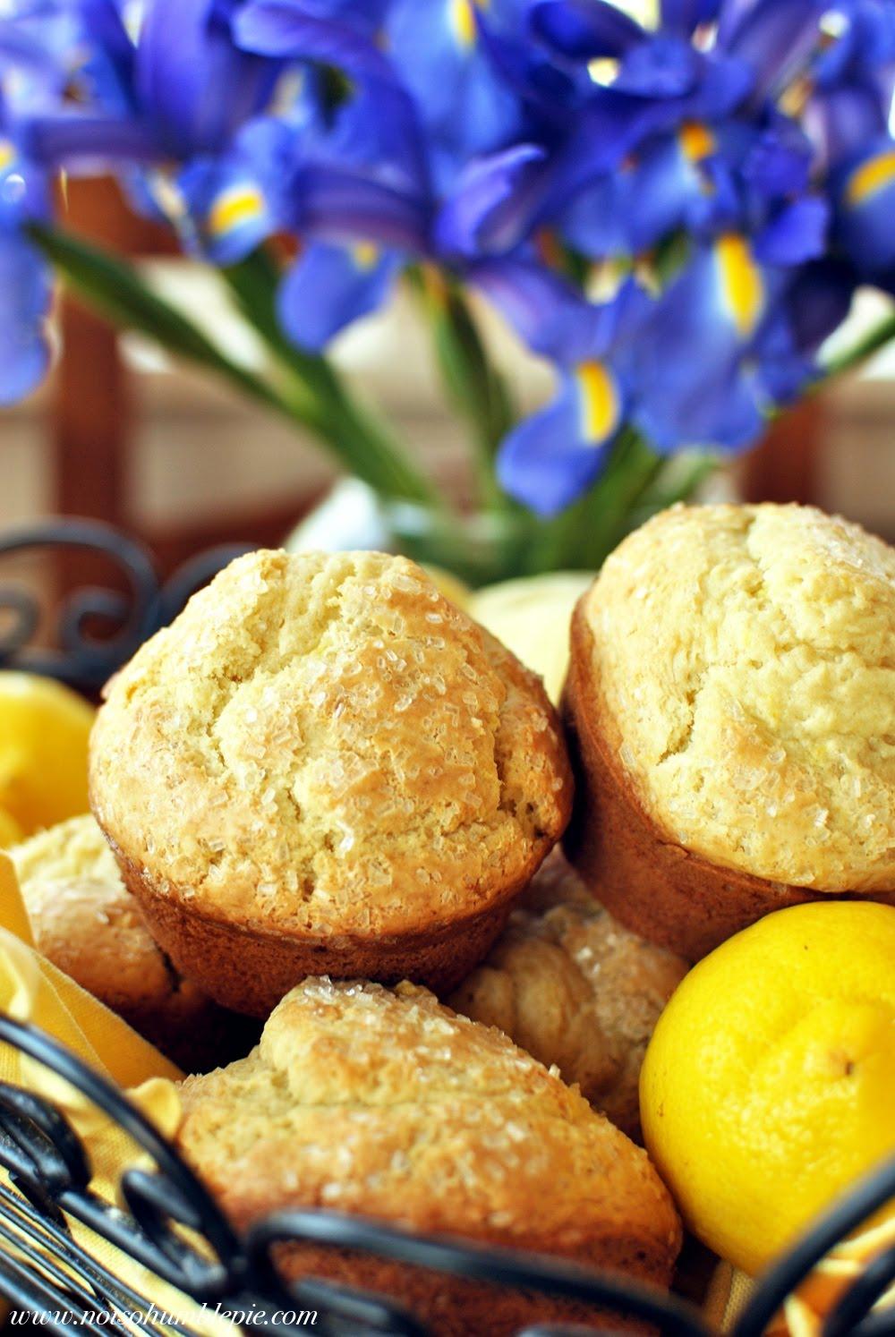 Not So Humble Pie: Sour Cream Lemon Muffins