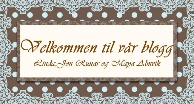 Familien Almvik`s bloggverden:)