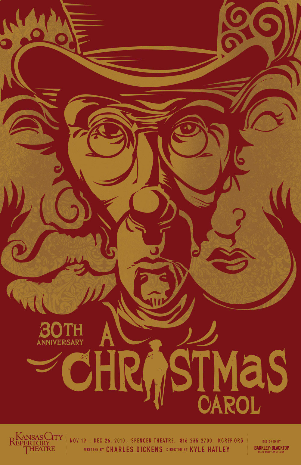 I Draw All Day: A Christmas Carol Poster
