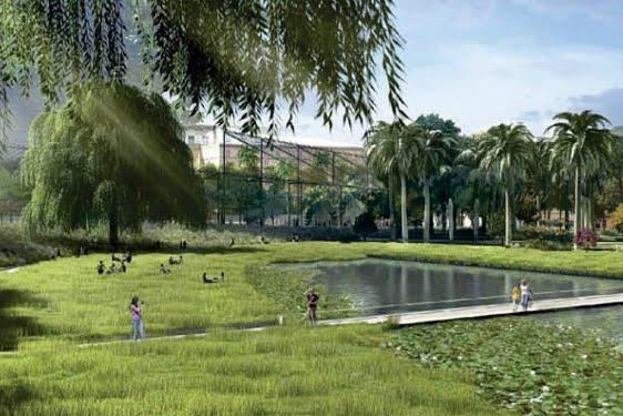 Kathryn gustafson realizar el parque central de valencia jardiner a y paisajismo paisajismo - Paisajismo valencia ...