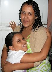 MINHA LINDA ESPOSA E MINHA FILHA