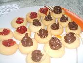 Nutellali ve Marmelatli Kurabiye