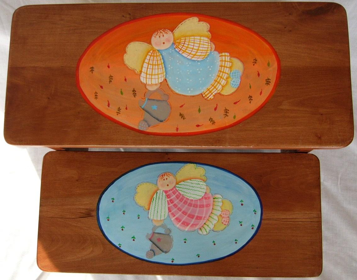 Muebles infantiles decoraci n para ni os juguetes tejidos manualidades cocina etc banquitos - Manualidades cocina para ninos ...