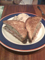 Grilled Chicken and Avocado Club Sandwich