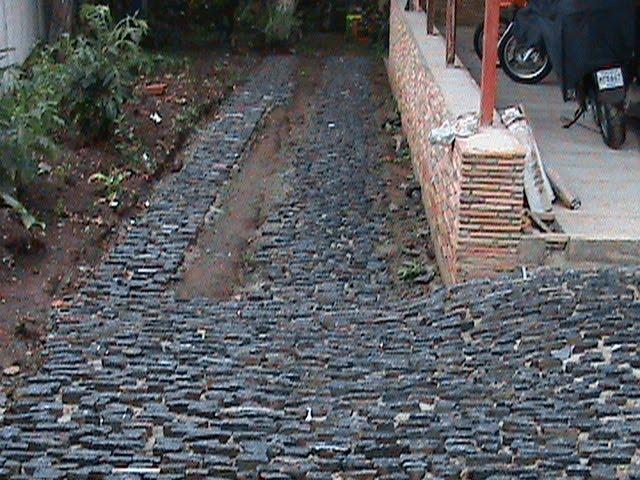 Trabajos en piedra caracas venezuela pisos de taco for Tipos de pisos rusticos