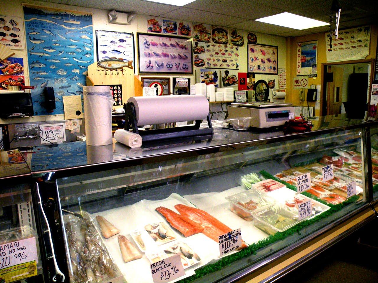 Buddha bellies anzen hiroshi 39 s asian groceries gifts for Sushi grade fish market