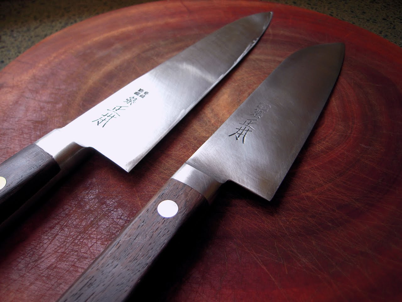 Japanese Folded Steel Kitchen Knives