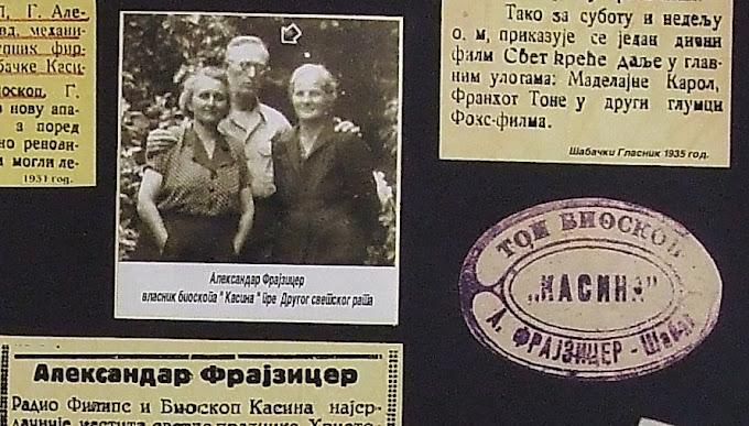 Od 1934-1940.vlasnik ,,KASINE,, bio je A.Frajzicer