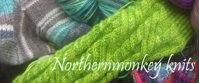 The northern monkey knits and natters