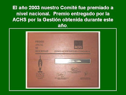 Premio Comite Paritario 2002