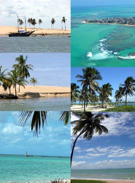 Praias do Litoral Nordestino