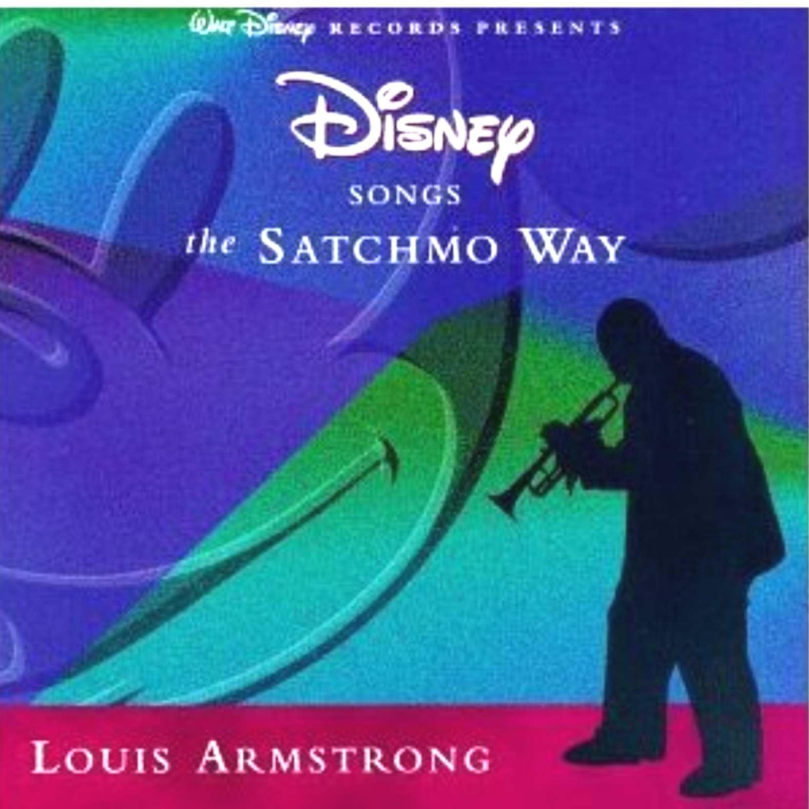 Louis Armstrong plays Walt Disney song