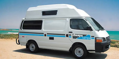 NZ campervan hire