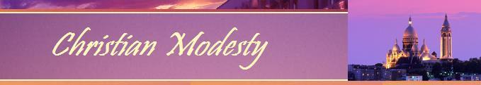 Christian Modesty