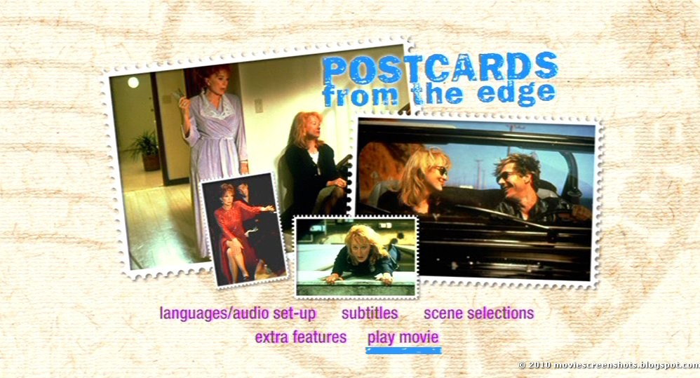 vagebonds movie screenshots postcards from the edge 1990