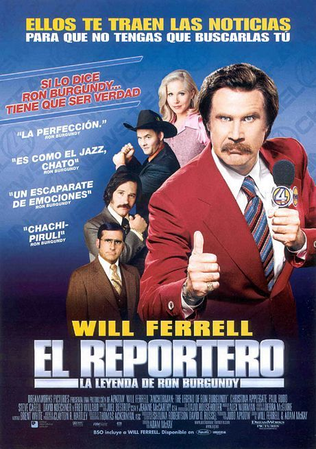 Anchorman The Legend of Ron Burgundy 2004  IMDb
