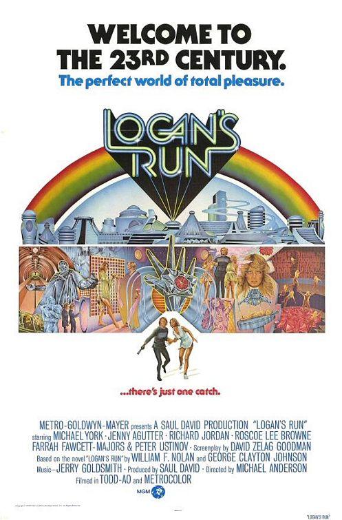 Vagebond's Movie ScreenShots: Logan's Run (1976)