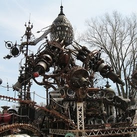 Trash Art Forevertron