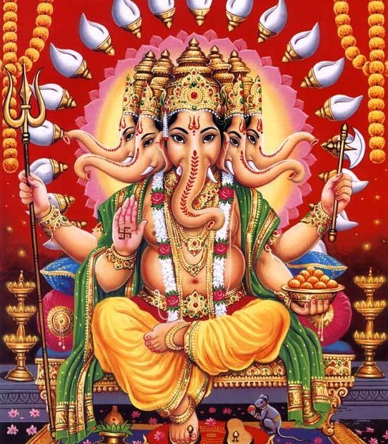 Hindu Gods Devotional Images: HINDU RITUALS AND ROUTINES...: Eight Avatars Of Lord Ganesh