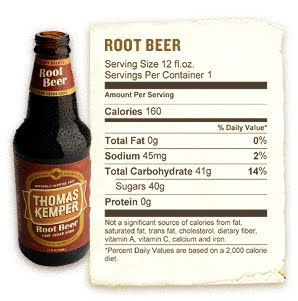 Not your fathers root beer nutritional facts butik work