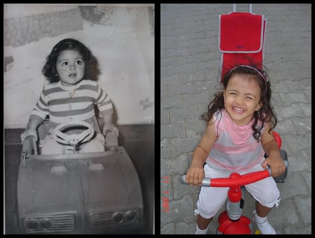 Ben küçükken,Duru Hanım büyürken..