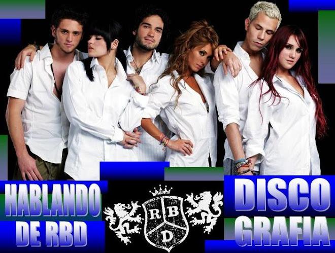 Discografia Hablando de RBD
