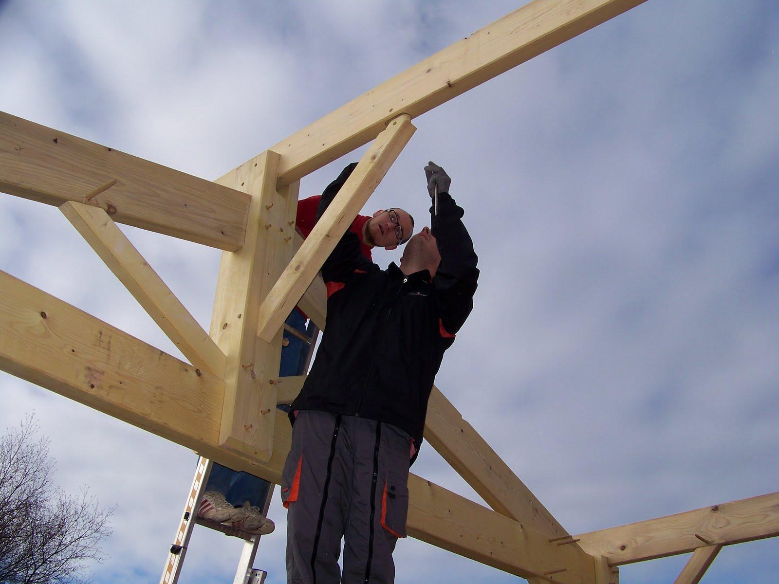 autoconstruction saucats la charpente traditionnelle. Black Bedroom Furniture Sets. Home Design Ideas