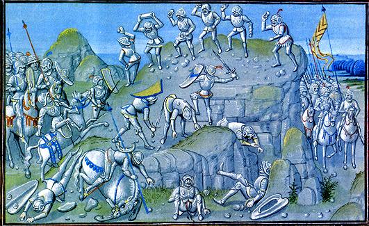 Bataille de brignais 06 avril 1362 où les compagnies de routiers