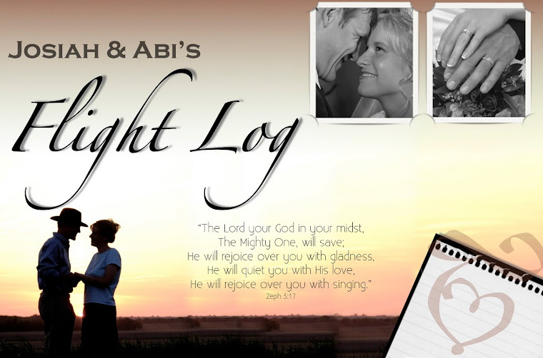 Josiah & Abi's Flight Log
