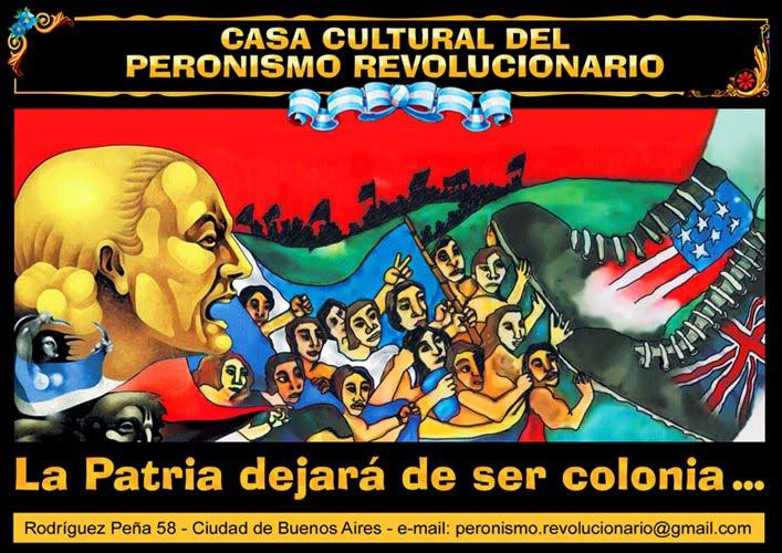 CASA CULTURAL DEL PERONISMO REVOLUCIONARIO