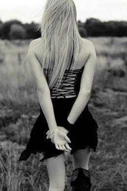 alone emo girl