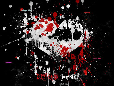 emo heart wallpaper