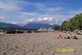 Kitsilano Beach, Vancouver, B.C.