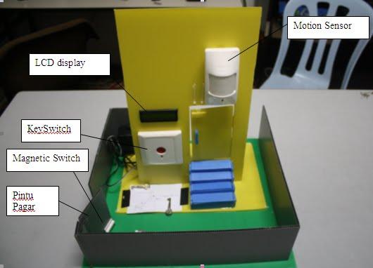 Contoh Projek Elektronik