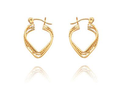 Triple Hoop Earrings